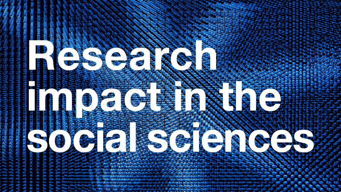 Research impact in the social sciences