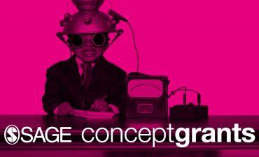 SAGE Concept grant showing boy in futuristic helmet
