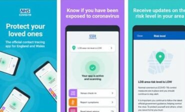 NHS campaign material for app launch