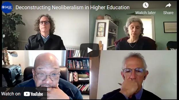 Panelists for neoliberal webinar