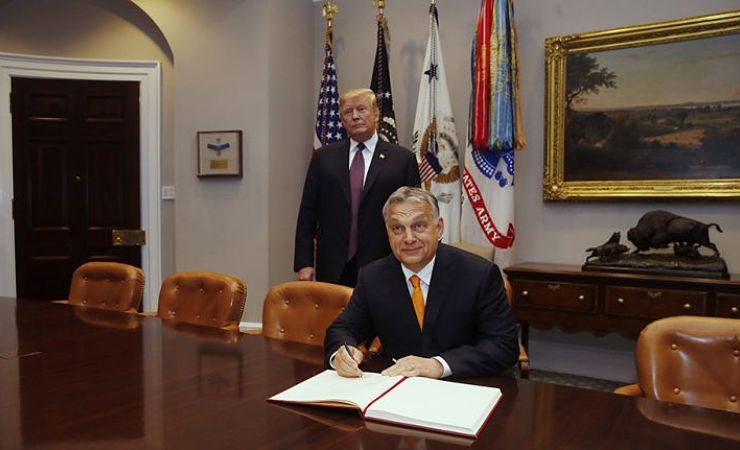 Viktor Orban and Donald Trump