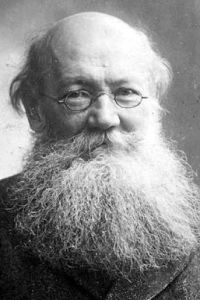 Russian anarchist Prince Peter Kropotkin
