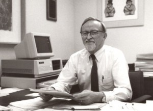 (Philip Converse in 1985. (Photo Institute for Social Research)