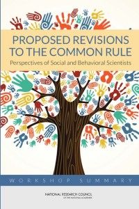 Proposed Revisions to the Common Rule report cover