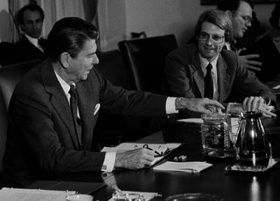 Reagan and Stockman
