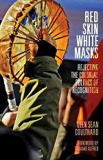 Red Skin white masks cover