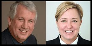 William Riley and Christine Hunter