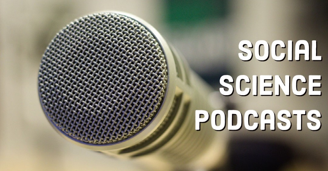 social science podcast microphone
