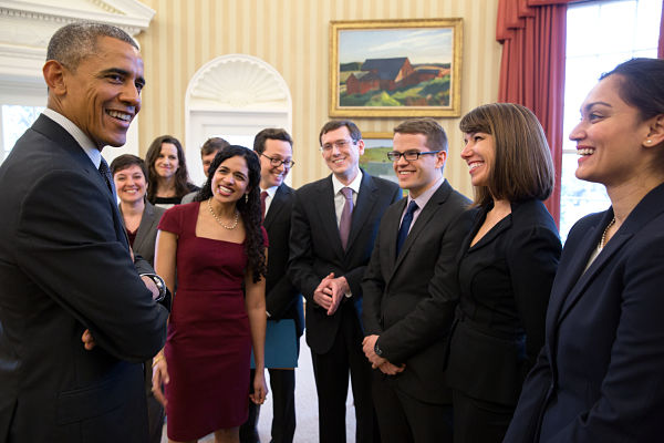 SBST team meets Obama