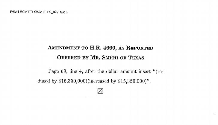 Smith-Cantor amendment