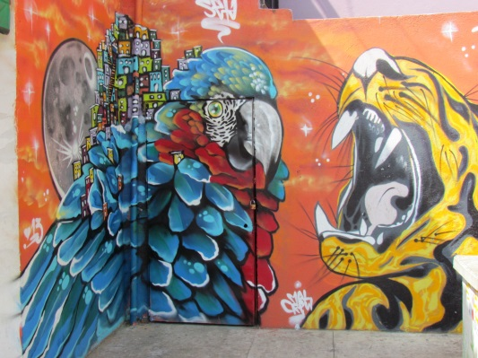 Street art in Comuna 13