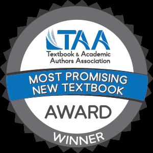 TAA Most promising Textbook Award logo