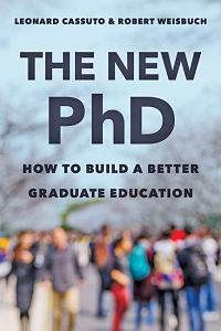 The New Phd book cover