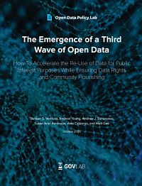 Third Wave of Open Data cover