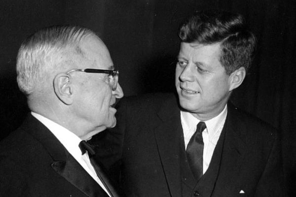 When push came to shove, Harry S Truman endorsed his party's choice for president in 1960, John Kennedy. (Photo: Harry S. Truman Library & Museum)