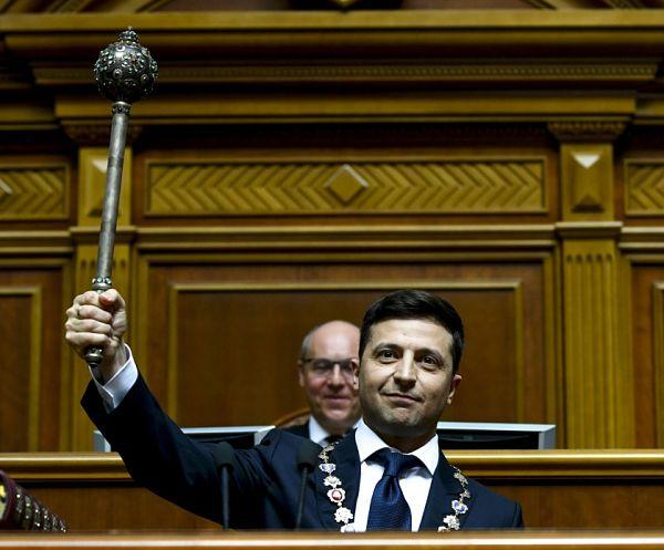 Ukraine President Volodymyr Zelensky