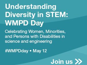 Square ad for WMPD Day event with #WMPDDay hashtag