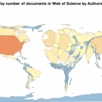 Web of Science authors mapped