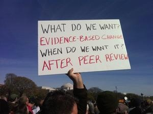 Sign for evidence-based policy