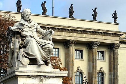 The purpose and practice of the university education has changed since the days of Wilhelm von Humboldt. But are things worse or just different? (Photo: Humboldt-Universität zu Berlin)
