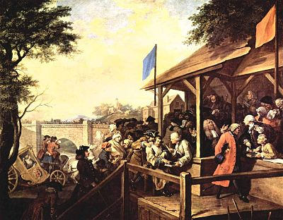 William Hogarth_The Polling