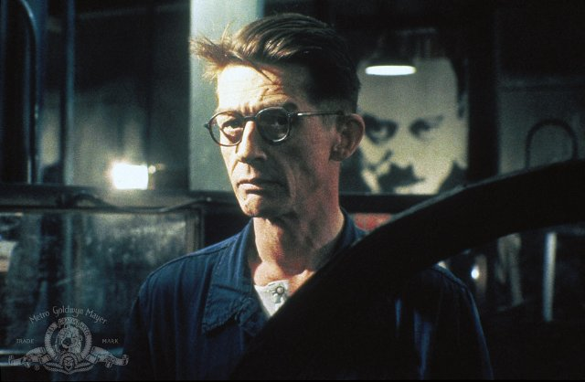 Actor John Hurt as Winston Smith in a publicity still from MGM's 1984 movie version of 1984. (Photo: Metro-Goldwyn-Mayer Studios Inc.)