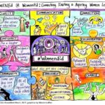 WomenEd cartoon