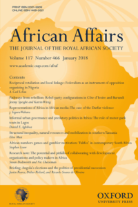 African Affairs cover