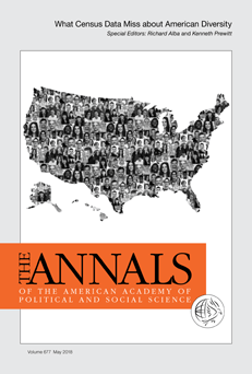 Cover of the annals volume on What Census Data Miss about American Diversity