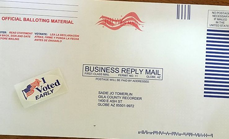 mail in ballot envelope