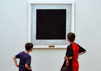 viewing Malevich