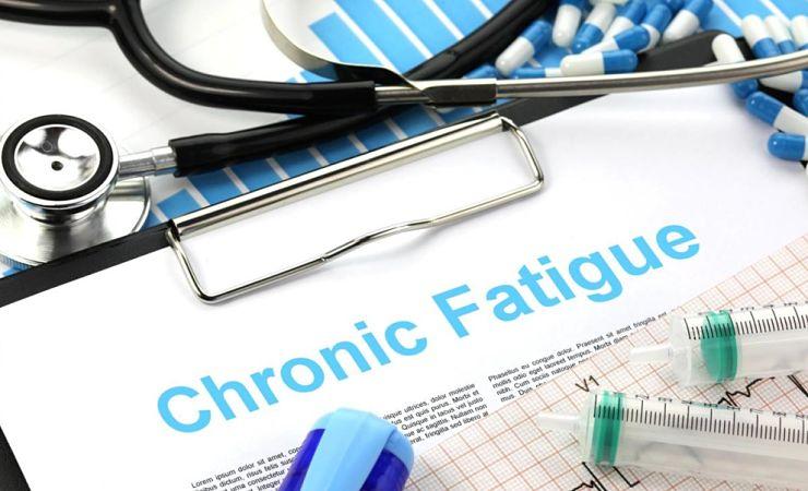 Chronic fatigue written on clipboard