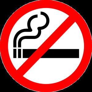 No smoning graphic
