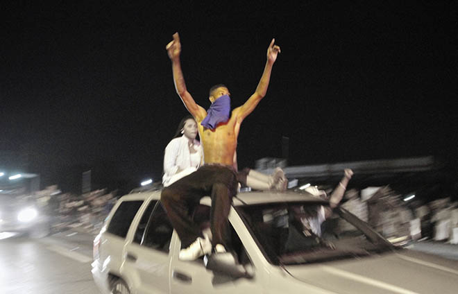 Protests in Ferguson, Missouri. (Photo: velo_city/Flickr)