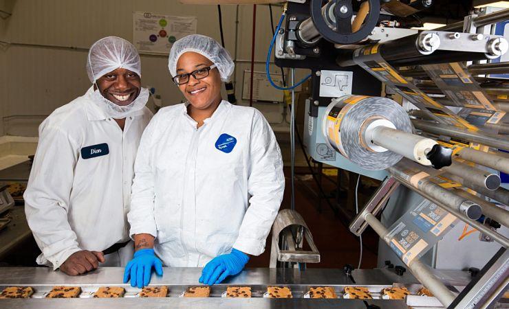 Greyston bakery employees