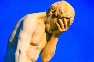 Head in Hands statue