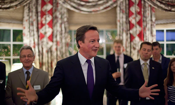 """David Cameron has said,  """"We need to do more with less. Not just now, but permanently."""""""