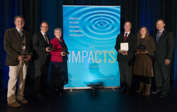 Impact Award winners from 2013