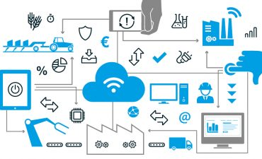 Graphic network of industry 4.0