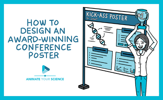 how to design an award-winning conference poster