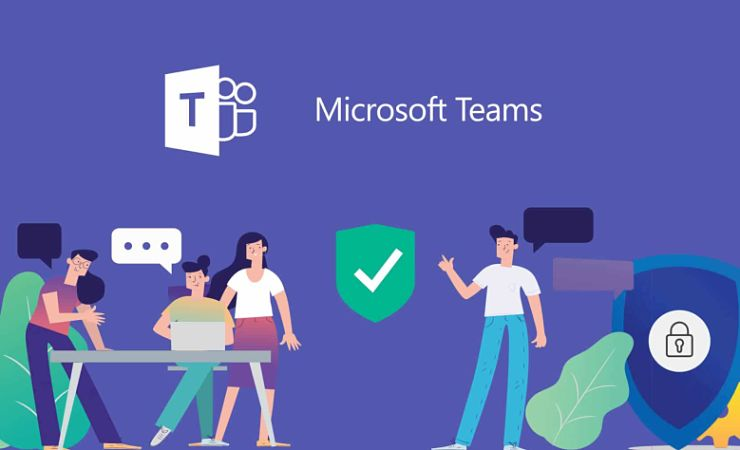 Microsoft Teams promotional graphic