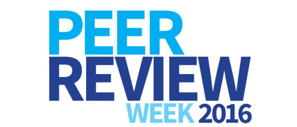 This post first appeared on the Peer Review Week website and is a culmination of opinions and thoughts from the Peer Review Week organizing committee.