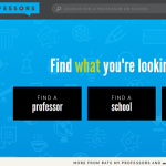 ratemyprofessor.com homepage
