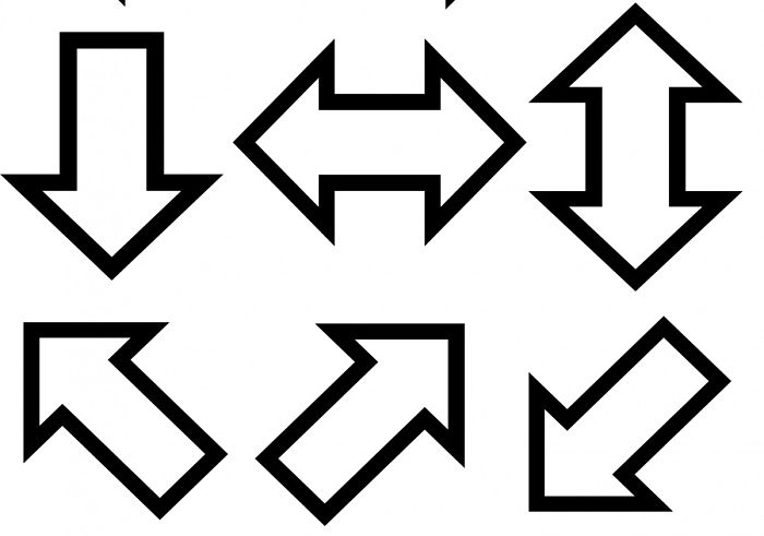 Various arrows