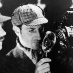 Basicl Rathbone as Sherlock Holmes