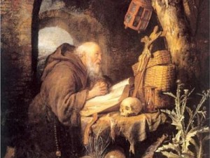 The Hermit painting