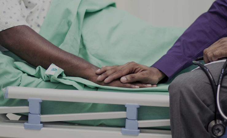 touching moment in hospital